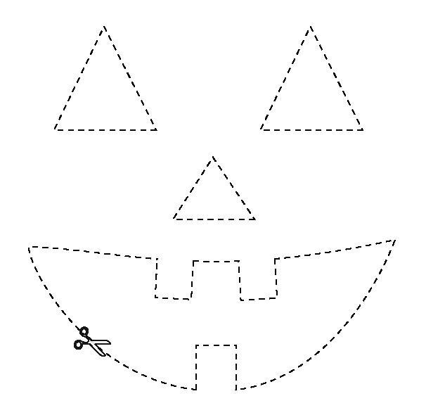 Sacola de papel para Halloween2